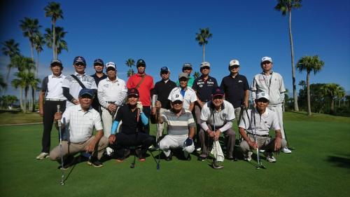 ★ゴルフコンペ参加者(3期~40期生) 於:宮崎愛和ゴルフクラブ