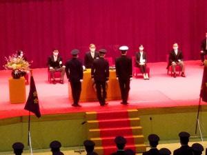 ★一般幹部候補生の任命・宣誓式